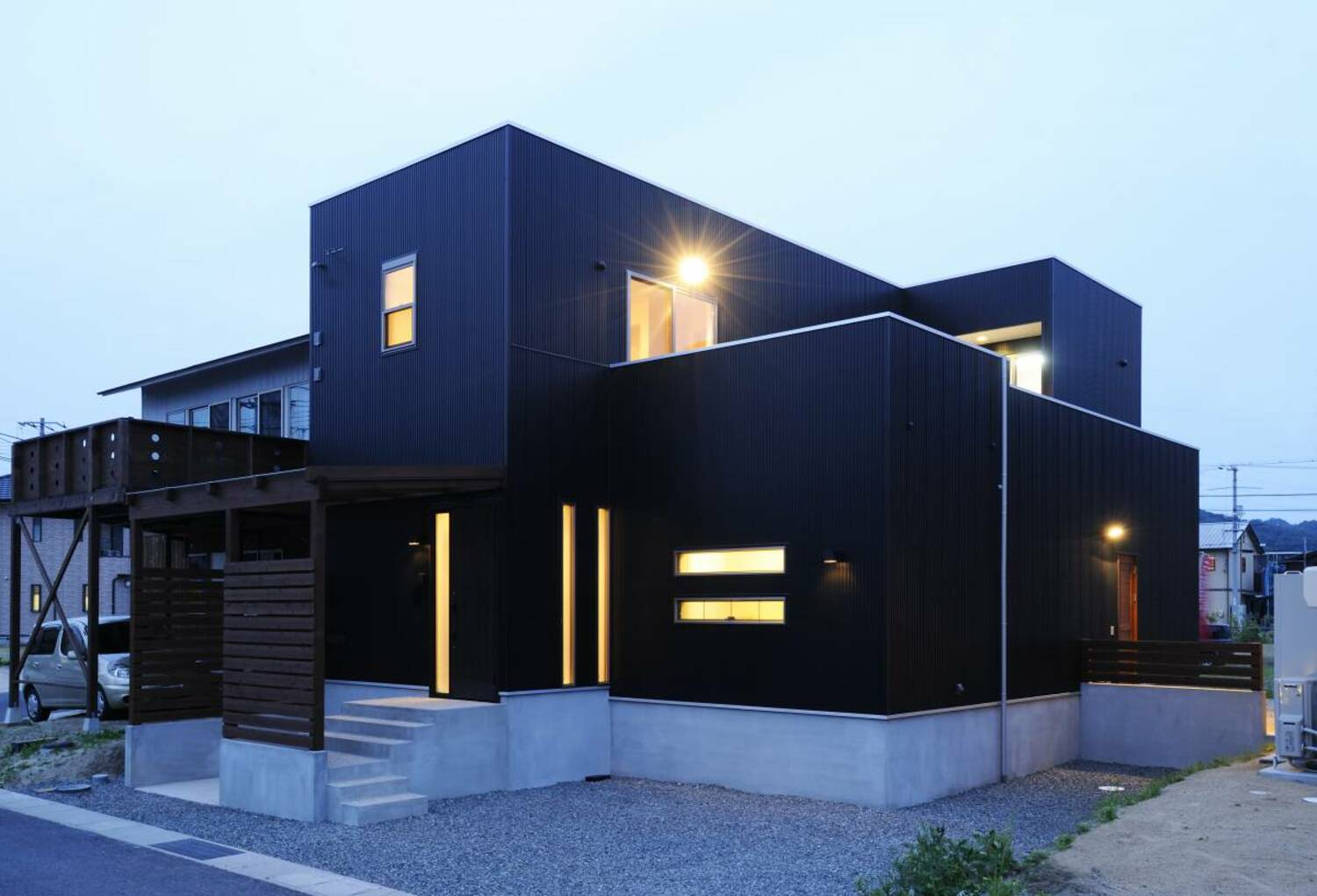 Black House with Presense